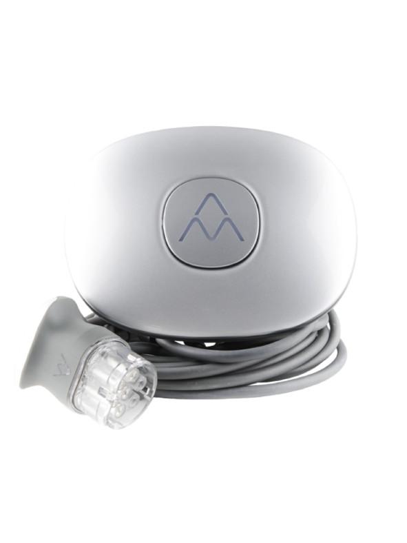 Halo Charge Amps laddbox med kabel vit bakgrund