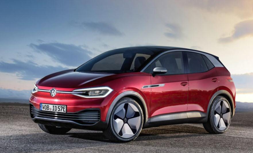 Volkswagen ID4 röd