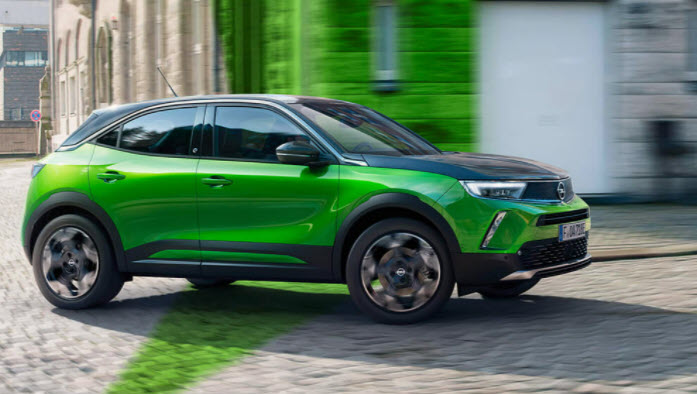 Leasa elbil: Opel Mokka-e
