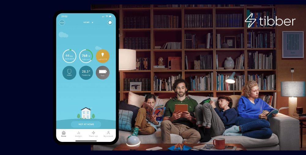 Tibber teasker Smart el app