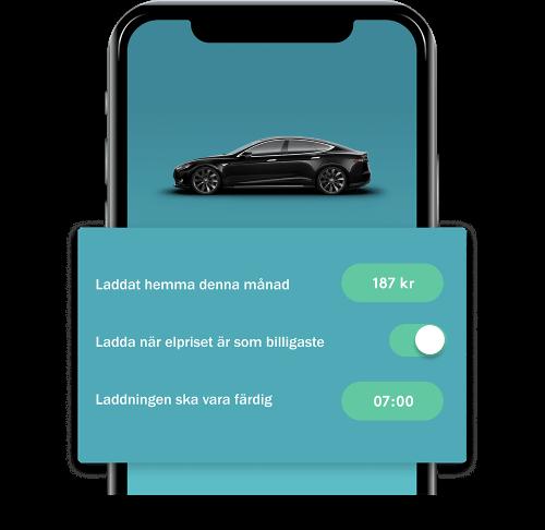 Ladda smart med Tibber app